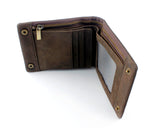 Brass Snap Button Wallet - Hello Moa
