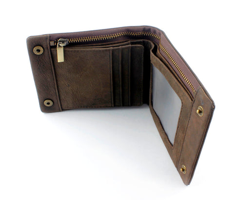 Image of Brass Snap Button Wallet