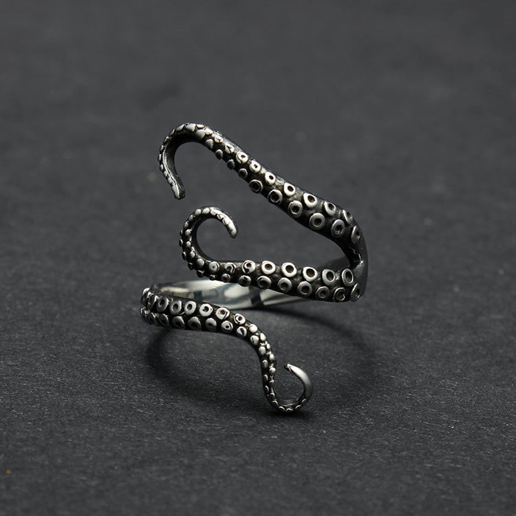 Octopus Titanium Ring