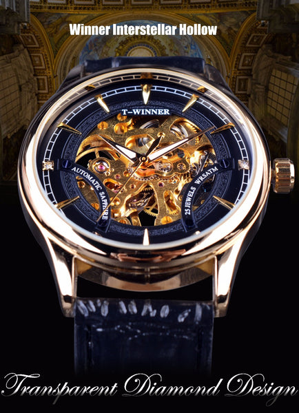 """The Interstellar"" Luxury Skeleton Watch"