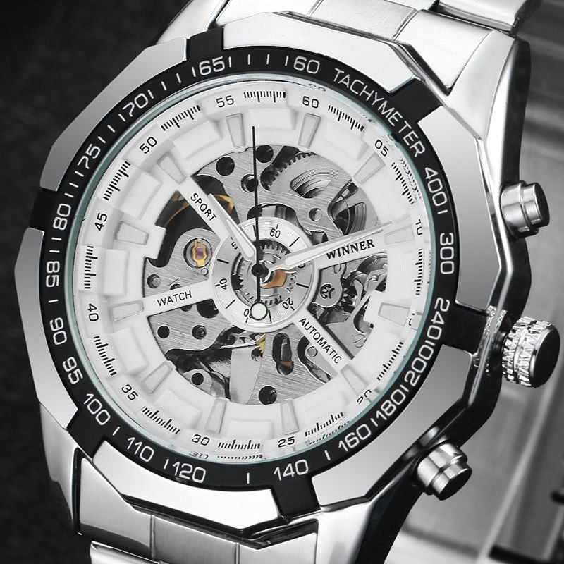 """The Regent"" Luxury Skeleton Watch"
