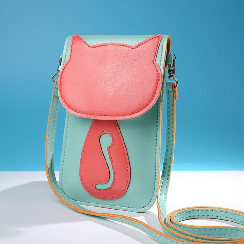 Cute Cat Messenger Bag - Hello Moa