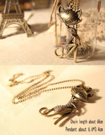 Chic Cat Necklace - Hello Moa