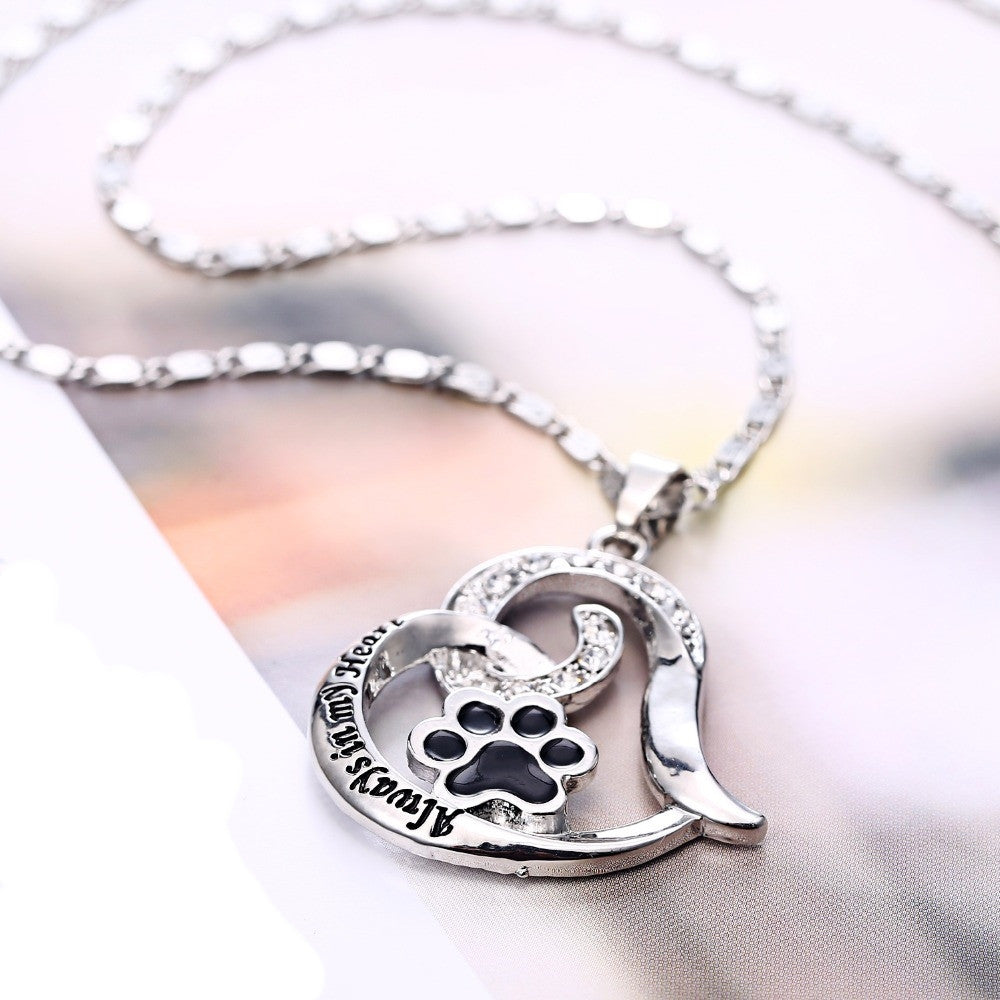 Cat Love Pendant Necklace - Hello Moa
