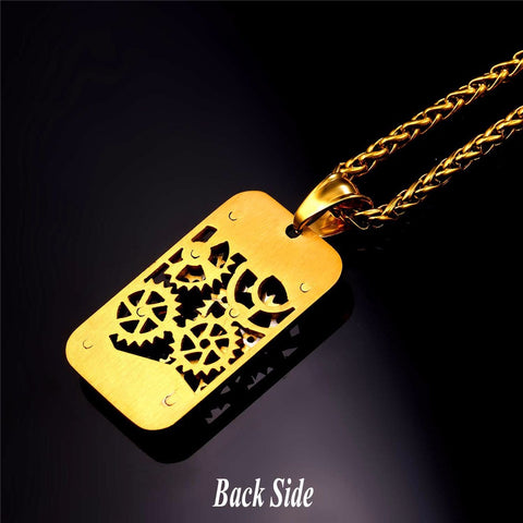 Image of Steampunk Dog Tags