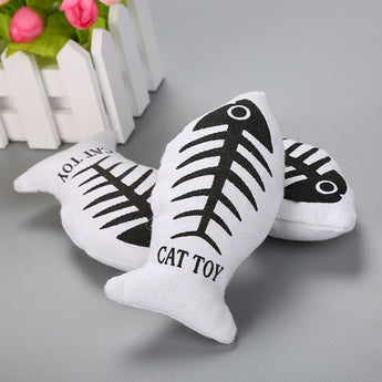 Catnip Fish Play Toy
