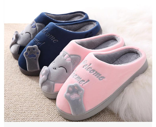 Comfy Cat Paw Slippers