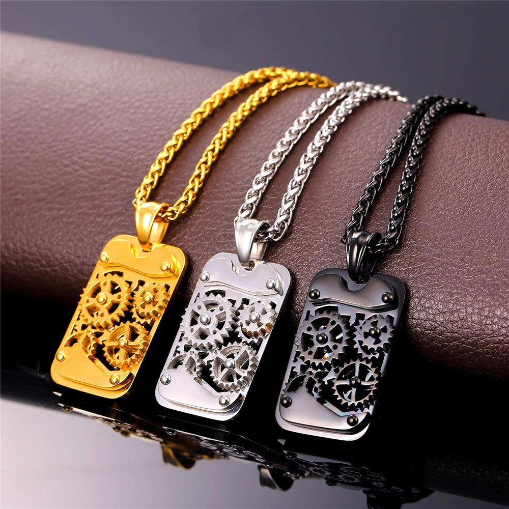 Steampunk Dog Tags