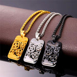 Steampunk Dog Tags - Hello Moa