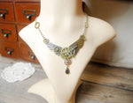 Steampunk Angel Wings Necklace - Hello Moa