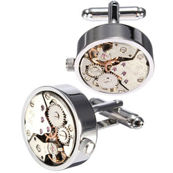 Mechanical Steampunk Cufflinks