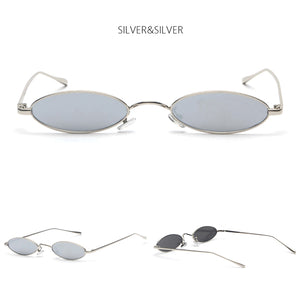 Small Oval Steampunk Glasses
