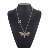 Steampunk Dragon Fly Necklace