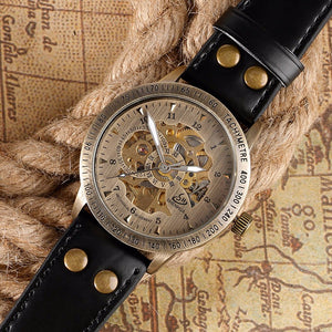 Vintage Bronze Skeleton Watch - Hello Moa