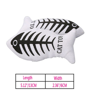 Catnip Fish Play Toy - Hello Moa