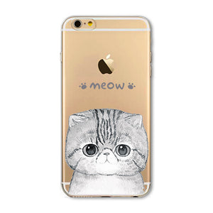 Cute Cat Cell Phone Case - Hello Moa