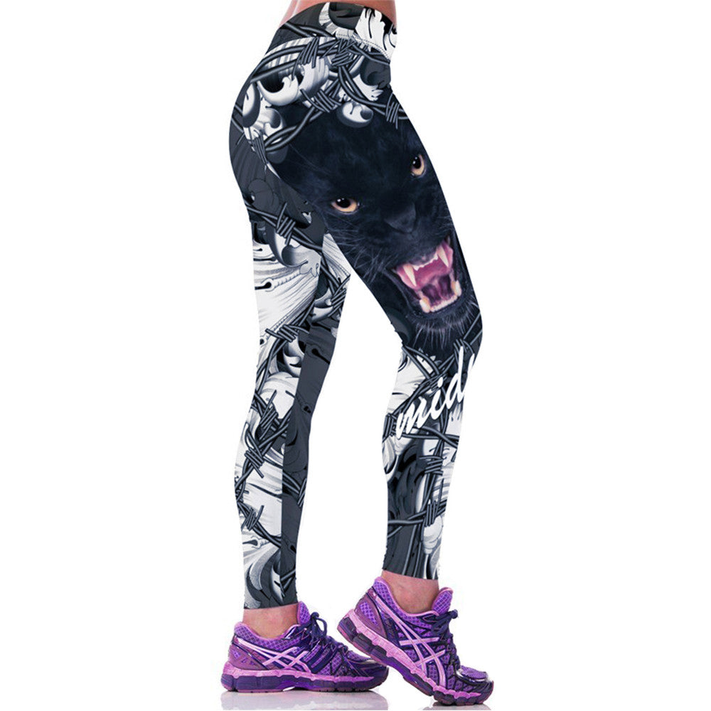 Wild Fitness Yoga Leggings - Hello Moa