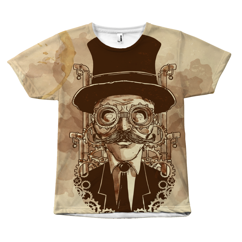 Top Hat Steam Tee - Hello Moa