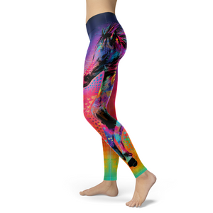 Art Horse Leggings - Hello Moa