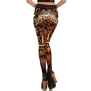 Steampunk Piston Leggings