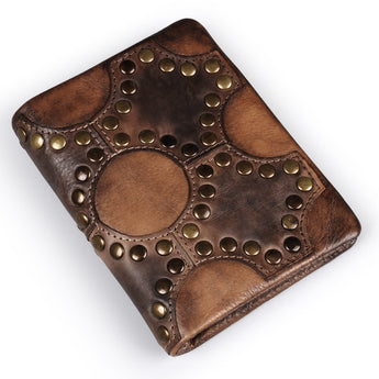 Steampunk Rivet Wallet