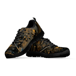 Steampunk Circuit 2 Sneakers - Hello Moa