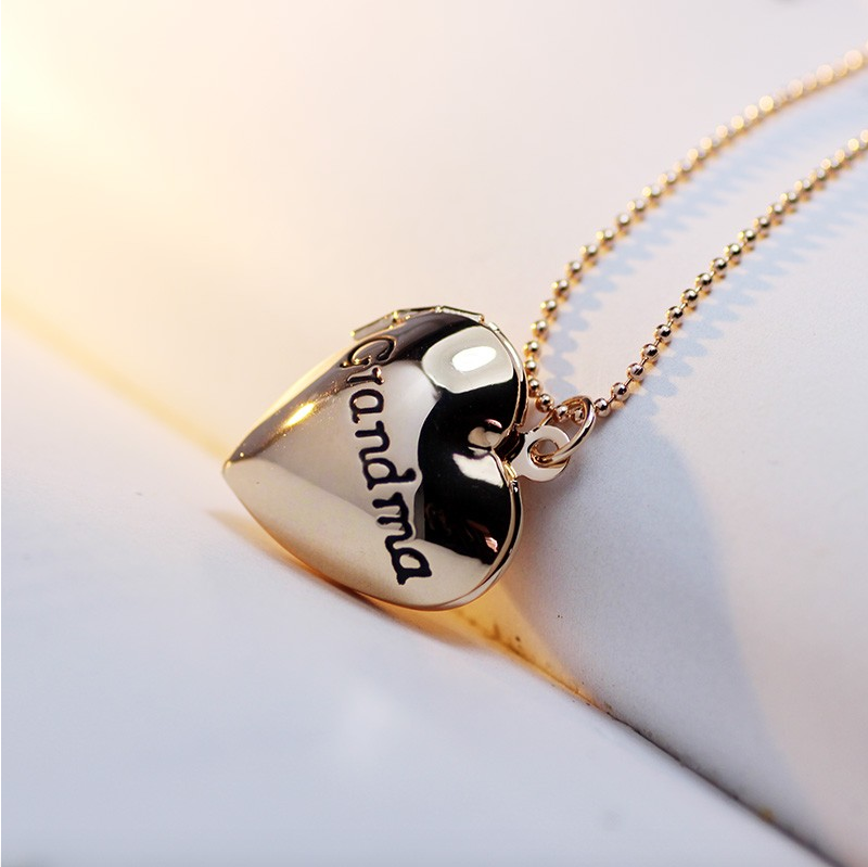 Grandma Locket Necklace