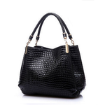 Alligator Leather Handbag - Hello Moa