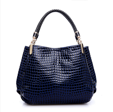 Alligator Leather Handbag