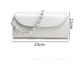 Stunning Crocodile Evening Bag