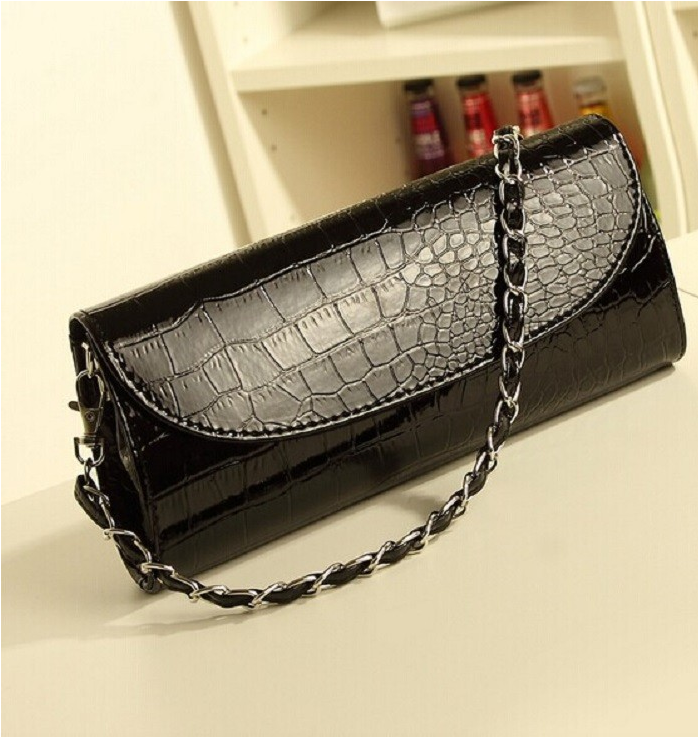 Stunning Crocodile Evening Bag - Hello Moa