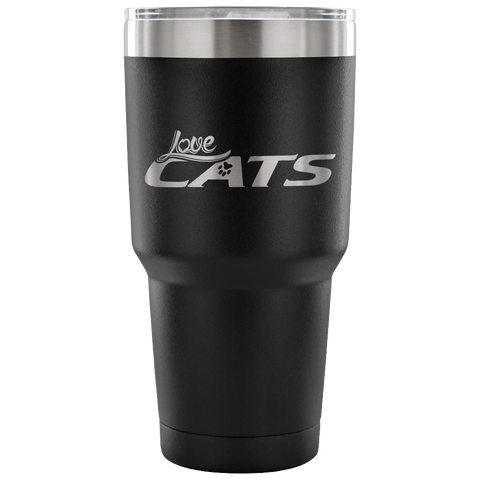 Image of Love Cats Tumblers