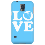 Blue - Horse Love Cell Phone Case - Hello Moa