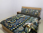 Steampunk Scissors Bedding Set - Hello Moa