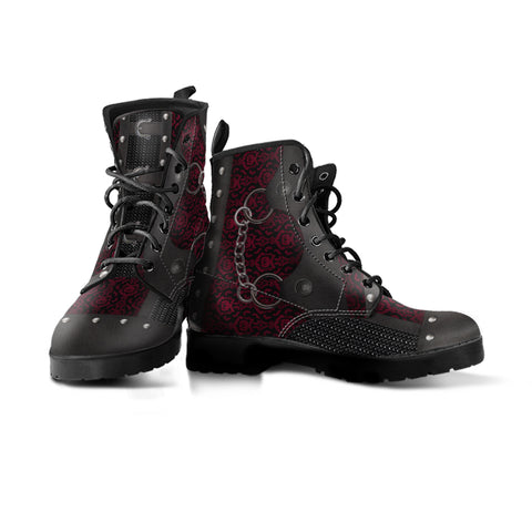 Image of Black Lace Boots (Women's)