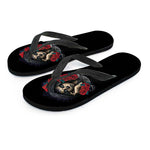 Darkside Sugar Skull Flip Flops