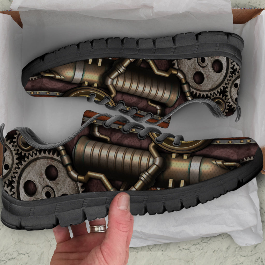 Steam Pipe Sneakers - Hello Moa