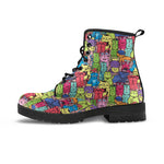 Cartoon Cat Boots (Women's) - Hello Moa