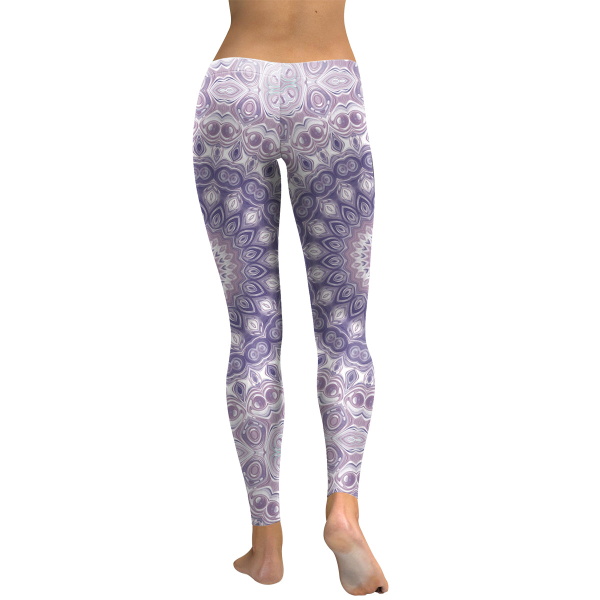 Purple Mandala Leggings - Hello Moa
