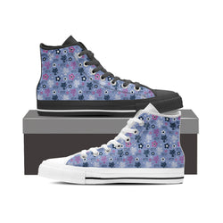Blue Kitten High Tops (Women's)