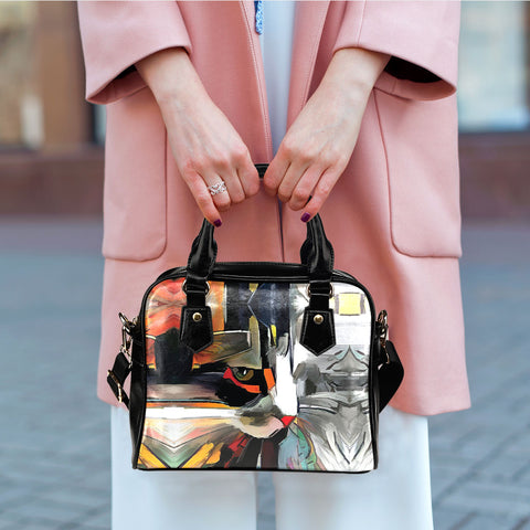Image of Art II Cat Shoulder Handbag
