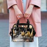 Art VII Cat Shoulder Handbag - Hello Moa