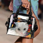 Art VIII Cat Shoulder Handbag - Hello Moa