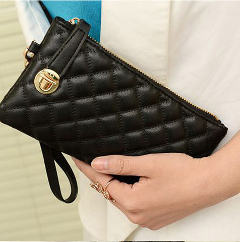 Image of Stylish Leather Clutch Wallet
