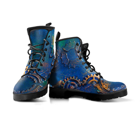 Express Blue Rust Boots (Women's)