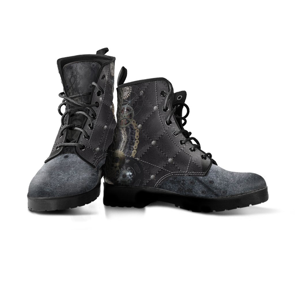 Express Steampunk Quilted Boots (Men's) - Hello Moa