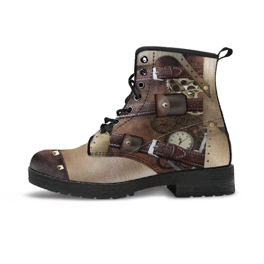 Express Steampunk Buckled Boots (Women's)