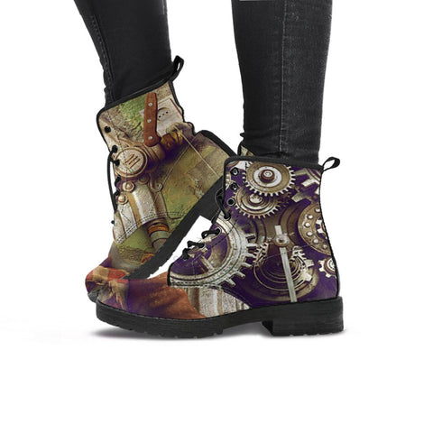 Image of Express Steampunk Gears Boots (Men's)