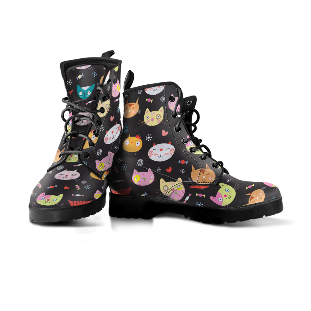 Lolly Cat Boots (Women's) - Hello Moa