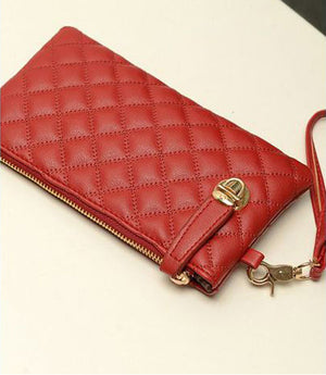 Stylish Leather Clutch Wallet - Hello Moa